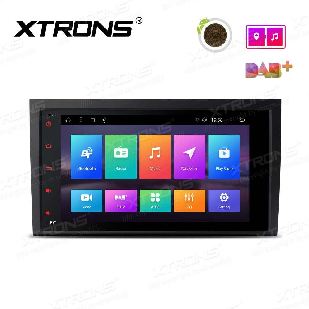 "XTRONS 8 ""Android 8,1 reproductor de Radio para coche GPS USB OBD NO DVD para Audi A4 S4 B6 B7/ RS4 2002, 2003, 2004, 2005, 2006, 2007/2008/SEAT Exeo"