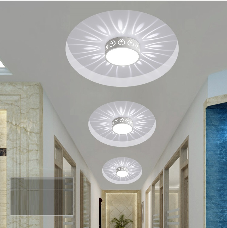 3W 5W 15W LED Embed Smallpox Modeling Light Ceiling Lamp Spot Lighting for Ceiling Corridor Doorway Light Decoration