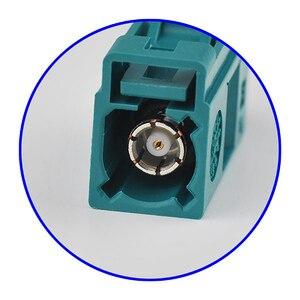 Image 4 - Superbat 10 قطعة Fakra موصل تجعيد جاك أنثى Waterblue /5021 محايد الترميز ل كابل محوري LMR195 RG58