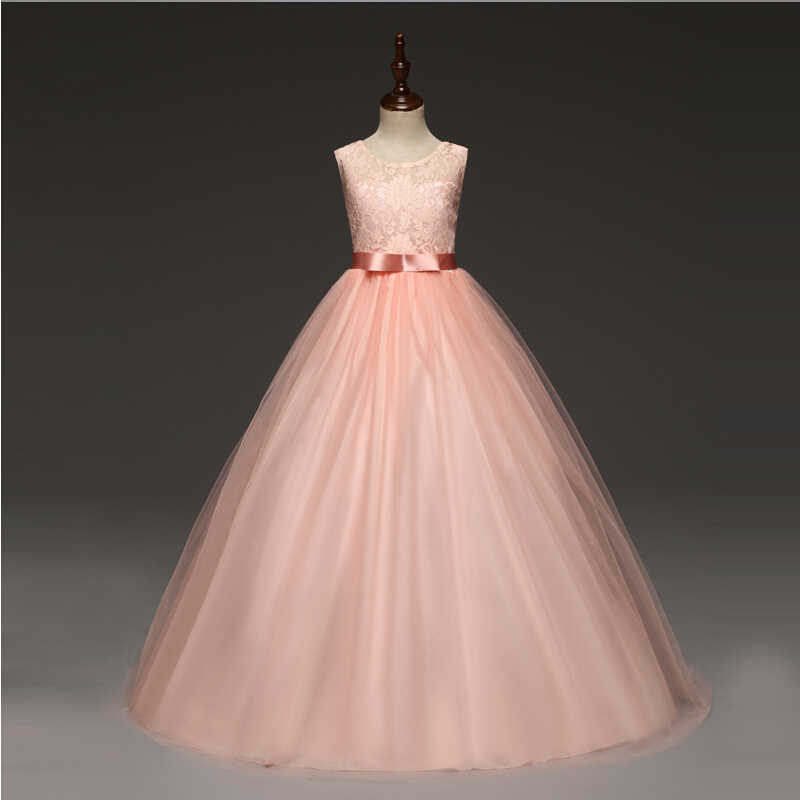 valor fabuloso en venta gran selección 5 14 AÑOS NIÑOS vestidos para niñas boda tul encaje chica ...