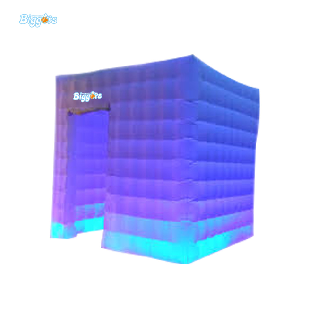 Free Shipping Best Quality Portable Inflatable Photo Tent Cube Tent With LED Lighting Toys Tent free shipping inflatable house shaped cube tent with window for events toy tent