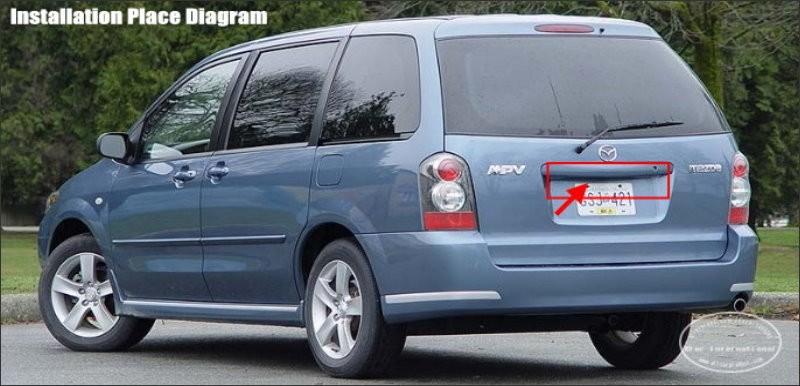 Mazda-MPV-BACK-license-plate-lamp
