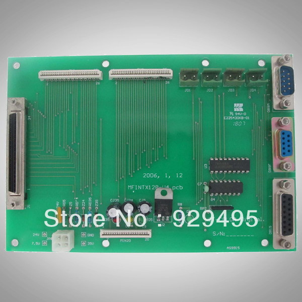 WIT-COLOR 2000 Terminal Board