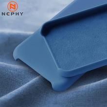 Чехол для huawei P30 P20 mate 20 Lite Pro, жидкий силиконовый чехол для телефона, карамельный цвет, мягкий на ощупь, полный защитный чехол