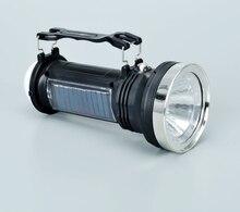 LED Solar light Engergy Charging Rechargable Portable Torch Light 3-mode Lanterna Led Linterna Lampe Torch