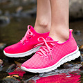 2016 new arrival mesh shoes Breathable fashion Woman casual shoes
