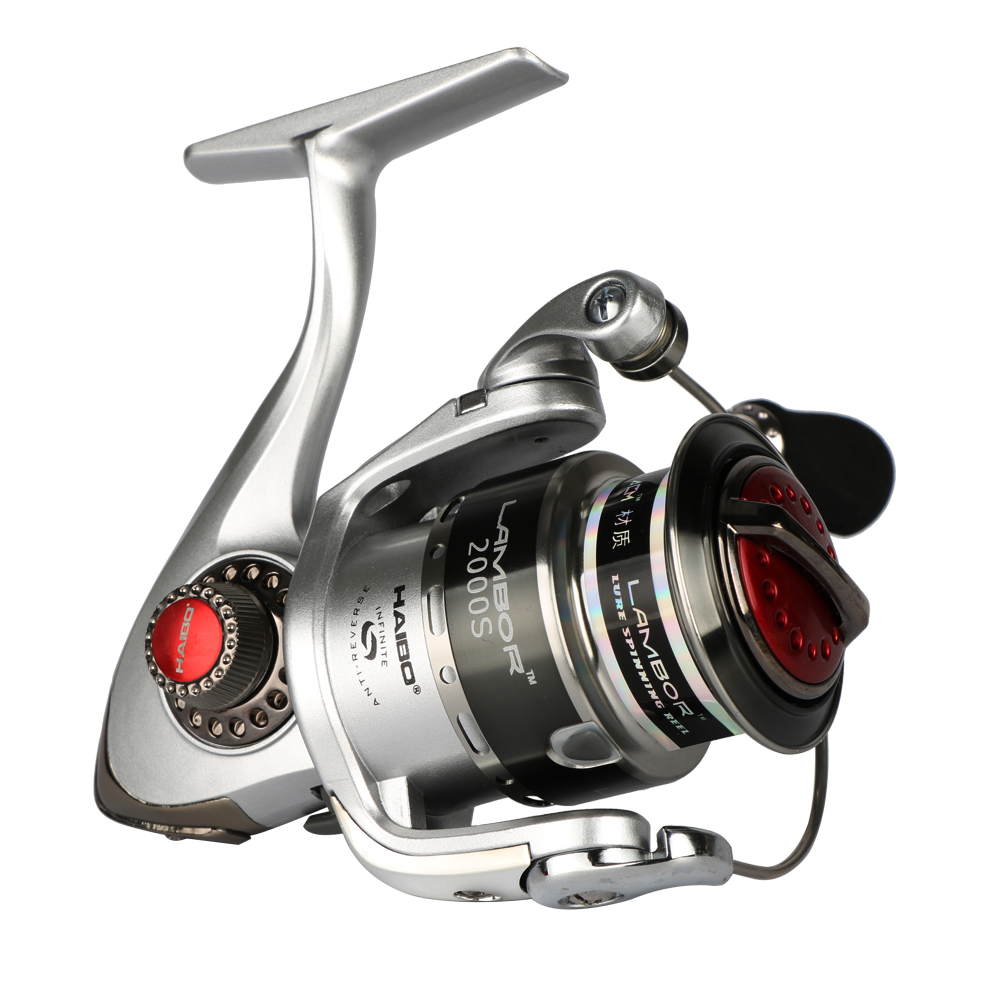 Haibo Lambor Spinning Fishing Reel Metal Spool Lure Reel 8BB 5.2: 1 - თევზაობა - ფოტო 3