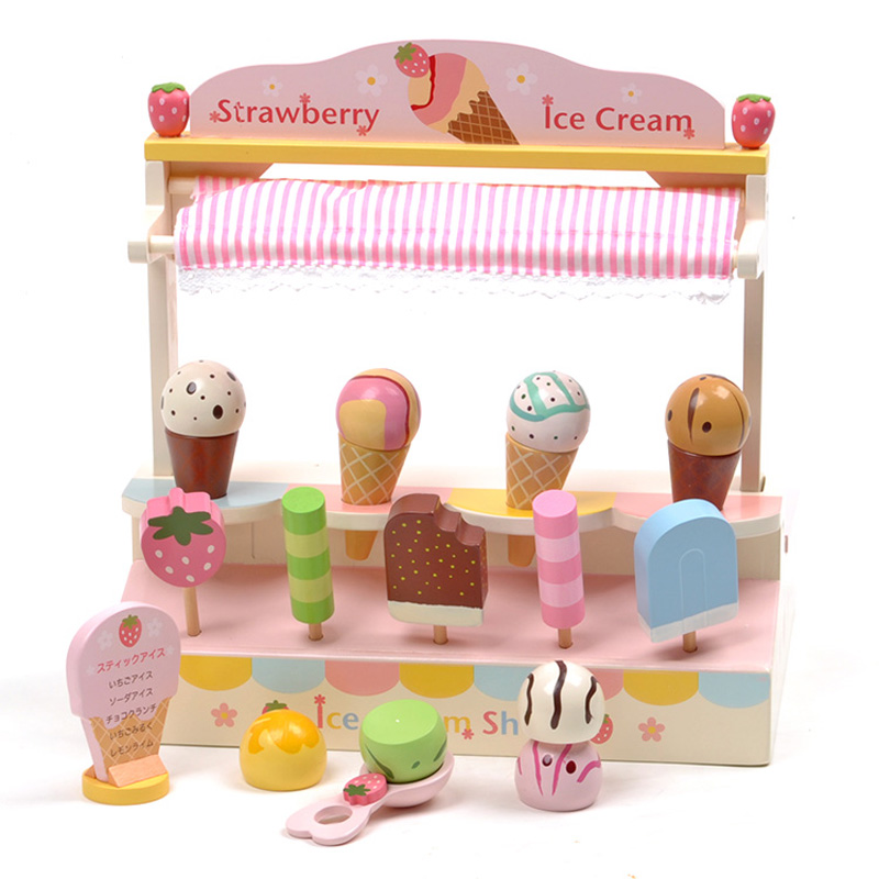 Buy mother garden strawberry ice cream for Cream kitchen set