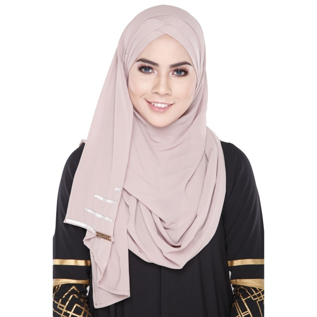 Embroidery Style one color Cotton Bandage Muslim Inner Hijab Cap Islamic Scarf