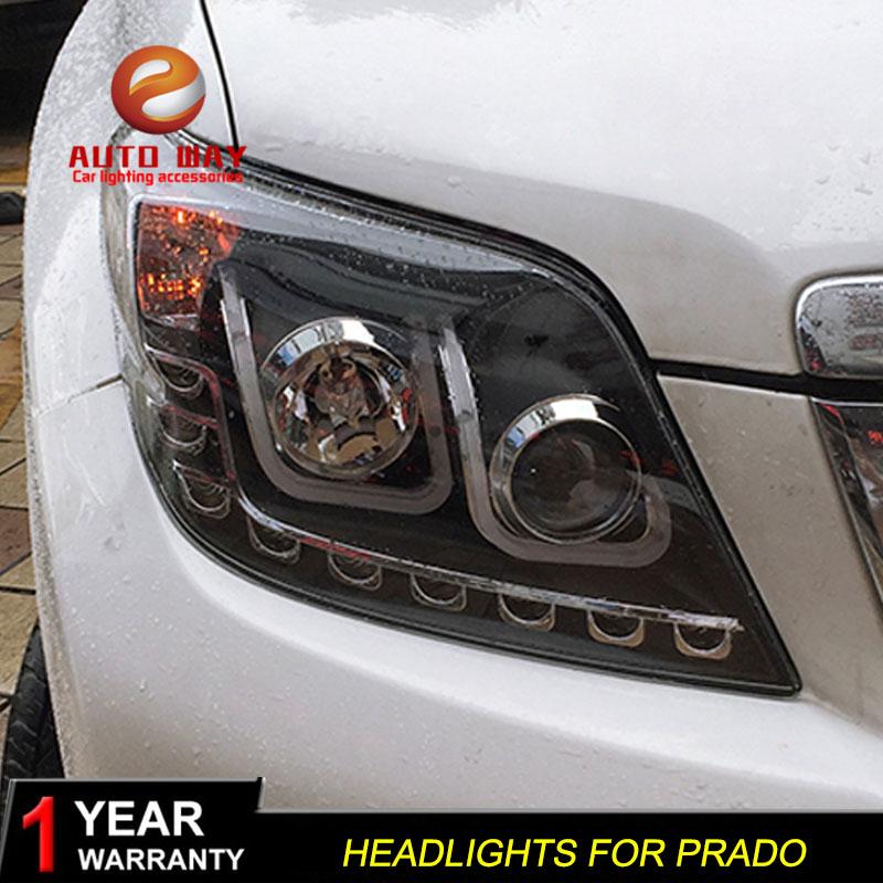 """Automobilio stiliaus """"Toyota Prado"""" priekinių žibintų dangtis, - Automobilių žibintai - Nuotrauka 2"""