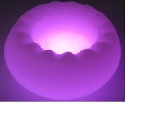 LED Magic candle,real wax,LED light,7 colors change automaticly,flower shape;P/N:YG-LPD840