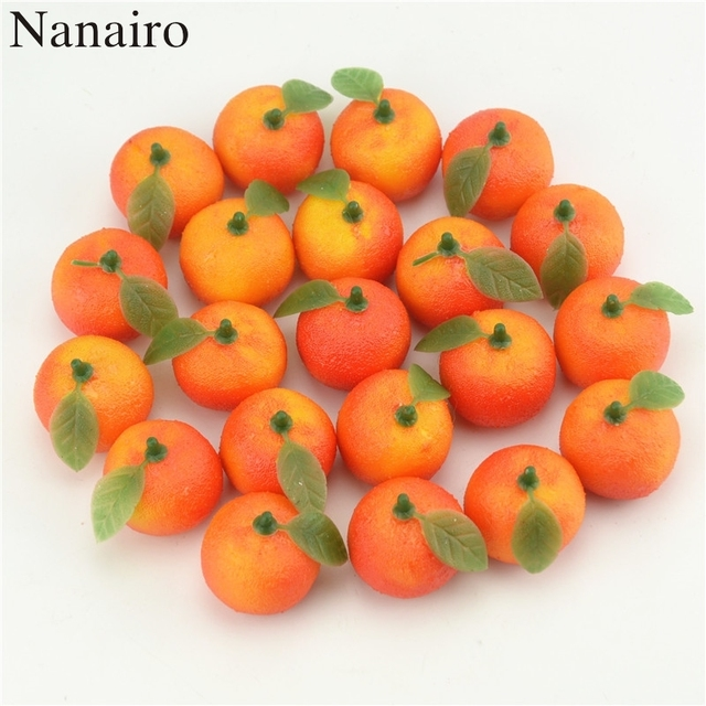 New 10pcs Artificial Fake Foam Fruits And Vegetables Berries Scrapbooking  Flowers For DIY Wedding Simulation Tree