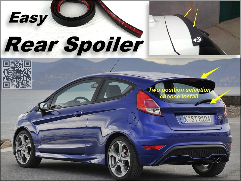 popular spoiler ford fiesta buy cheap spoiler ford fiesta. Black Bedroom Furniture Sets. Home Design Ideas