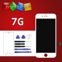 Grade AAA e LG 1 PZ LCD No Dead Pixel Per iPhone 7 display di Ricambio del telefono cellulare Touch screen LCD Display Digitalizzatore Assembly