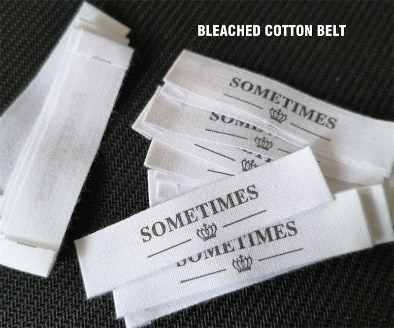 1.5cm Organic Cotton Belt/tape Custom Clothes/Clothing Dress Labels/Tags Name Tags  Handmade Labels Print Black Special Offer
