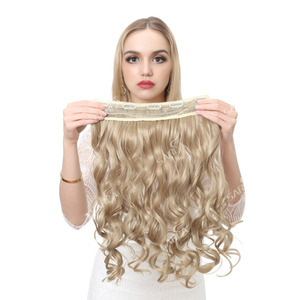 Image 2 - SARLA 10 יח\חבילה ברזילאי 5 קליפים בתוספות שיער עמוק גל ארוך סינטטי פאה טמפרטורה גבוהה 888 משלוח חינם