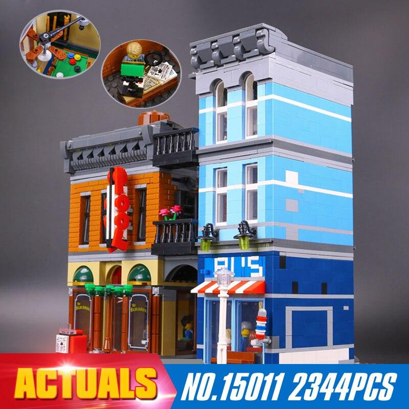 ФОТО Lepin 15011 Parsian Creator Expert City Street restaurant Avengers Set Assemble Building Blocks Children Toys Gifts
