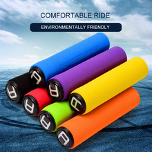 aiboduo Bicycle Grips Cover Soft Foam Sponge MTB Road Bicycle Grips Unilateral Locking Anti-slip Handle Bar Grips