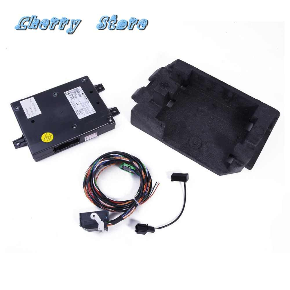 NEW 1K8 035 730 9W2 Bluetooth Module+Direct Plug Harness+Foam Holder For VW Golf Jetta Passat B6 Scirocco Tiguan RCD510 RCD 510