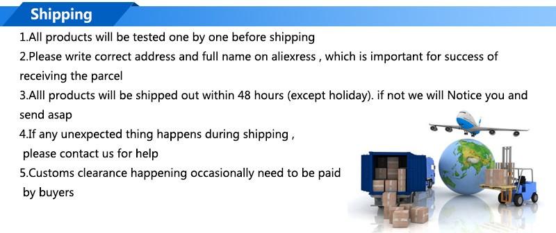 5. Shipping