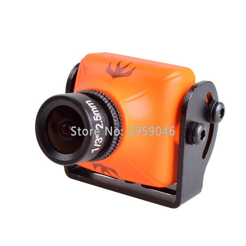 1 Pcs RunCam Swift 2 FPV 600TVL Camera 2.3mm Lens OSD with IR Blocked NTS PAL for RC Quadcopter Multicopter drone kit kit