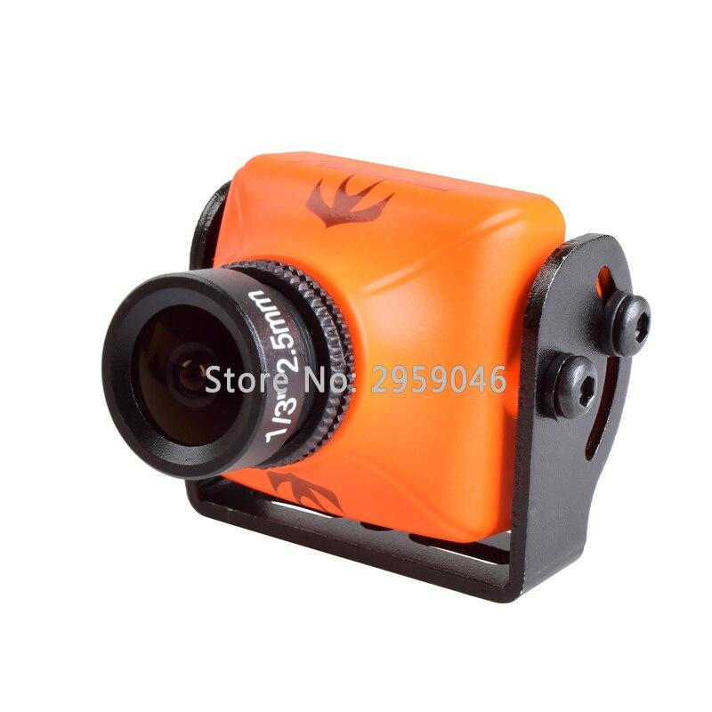 1 Pcs RunCam Swift 2 FPV 600TVL Camera 2.3mm Lens OSD with IR Blocked NTS PAL for RC Quadcopter Multicopter drone kit kit runcam swift original 600tvl mini fpv camera ir block 90 angle 2 8mm lens