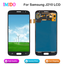 10Pcs AAA+++ Quality LCD Display For Samsung Galaxy J2 J210 J210F 2016 LCD Display Touch Screen Digitizer Assembly Replacement цена