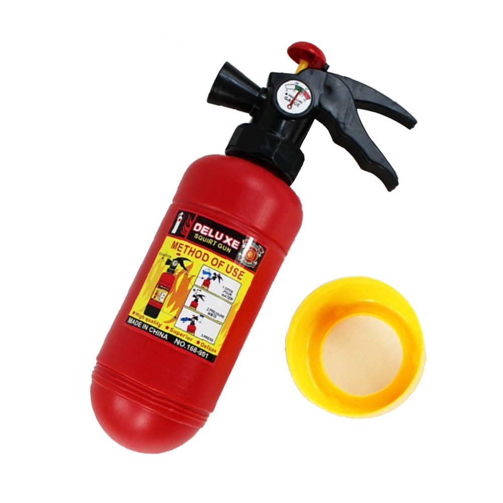 Obliging Novelty Pretend Play Toy Fire Extinguisher Water Spray Machine Game Simulation Toys Boy Girl Birthday Gift Drop Shipping 30s873 Superior Quality In