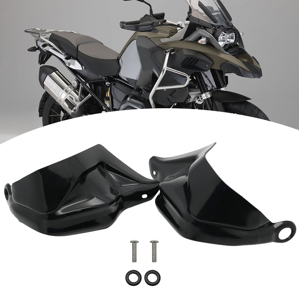 For BMW R 1200 GS ADV F800 GS Adventure S1000XR Handguard Hand Shield Protector Windshield Black 2013 2014 2015 2016 2017 2018 (33)