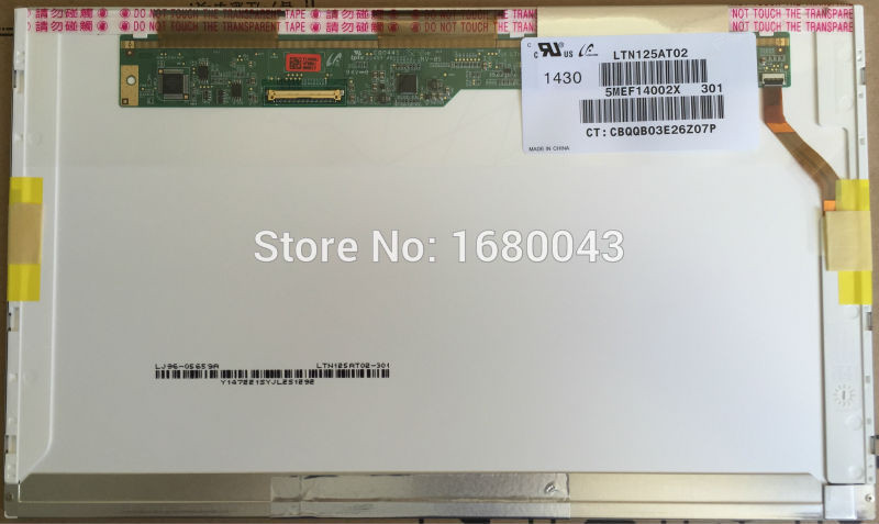 LTN125AT02 fit B125XW02 V.0 LCD Laptop LED Ekran 40 PINLTN125AT02 fit B125XW02 V.0 LCD Laptop LED Ekran 40 PIN