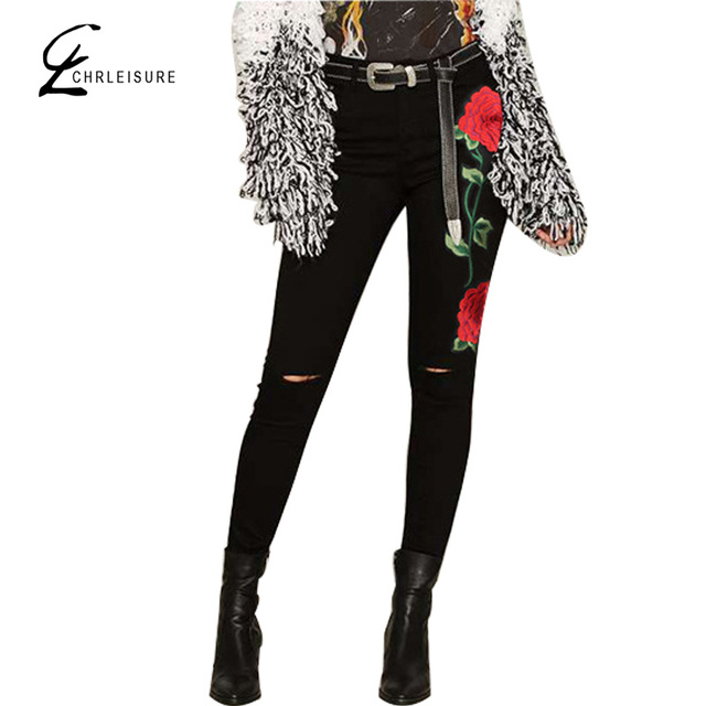 Aliexpress.com : Buy CHRLEISURE XS XXL Women 3D Stereo Embroidery ...