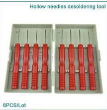 8 шт./лот полые иглы распайки инструмент электронные компоненты из нержавеющей стали