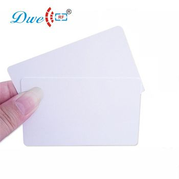 DWE CC RF 200pcs per lot Access Control Cards 13.56mhz MF iso 14443A S50  PVC access control rfid  card dwe cc rf touch screen wiegand 34 rfid reader access control with keypad