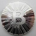 Bitcoin Okcoin TRY ME BTC Medal Silver Copy Coin Souvenir Metal Craft Coins