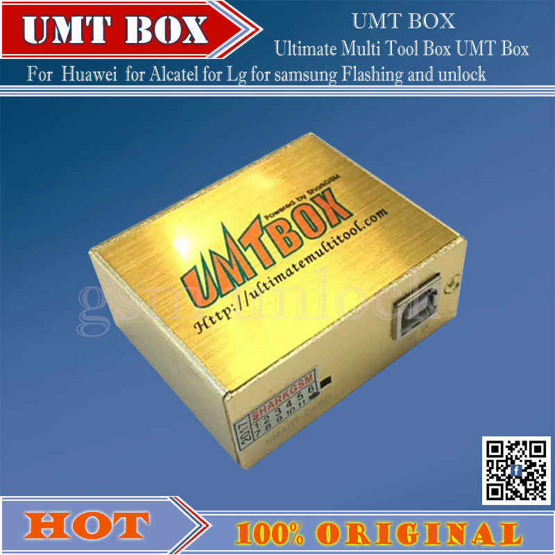 gsmjustoncct 2018 Newest 100% Original UMT BOX Avengers 2in1 with 1 USB  Cables