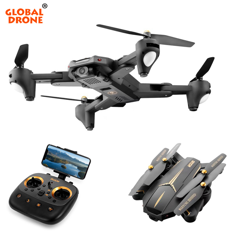 Global Drone VISUO XS812 GPS Quadrocopter with Camera HD 5MP 15 mins Fly Time Follow Me Auto Return (RTH) RC Profissional Dron Квадрокоптер