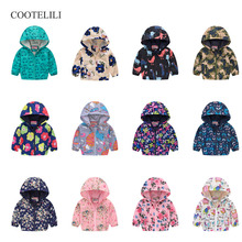 COOTELILI Baby Clothes Clothing Dinosaur Cat Kids Boys Jacke