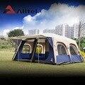 Alltel/супер большая Пляжная палатка с защитой от дождя  для 6-12 человек  для кемпинга  для всей семьи  водонепроницаемая  для рыбалки  2 спальни  1...