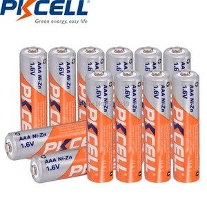 Image 2 - 12PCS  NIZN battery 1.6V AAA 900mwh pile rechargeable battery AAA cell and NI ZN battery charger for AA/AAA batteries  PKCELL