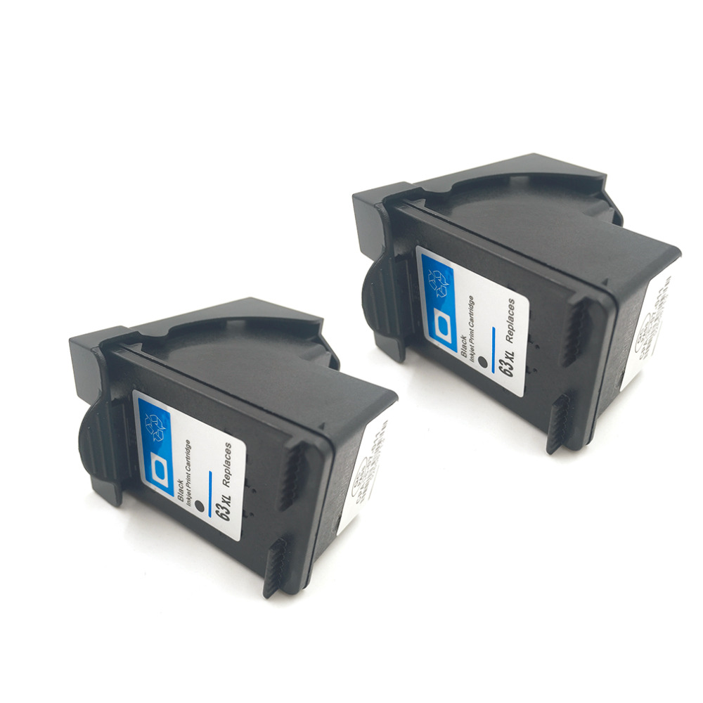 New High quality Ink Cartridge Replacement for HP 63 XL for HP 63 Officejet 2620 for ENVY 4500