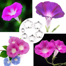 New Stainless Steel Flower Cutting Die Morning Glory Multi-flesh Shape Cutter Clay Tools