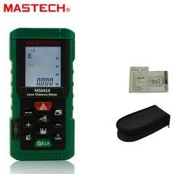 MASTECH MS6414 40M dalmierz laserowy  możesz o nich nadmienić/1.5mm elektroniczna linijka liniowy wskaźnik laserowy pomiar odległości Instrument podświetlenie
