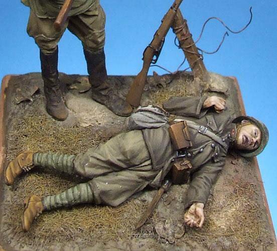 Масштабные Модели 1/35 Погибших Японских солдат на местах рисунок uncolor ВТОРОЙ МИРОВОЙ ВОЙНЫ Смола Модель Бесплатная Доставка