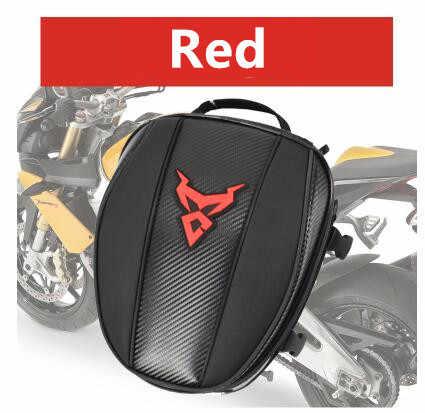 Serat Karbon Multifungsi Tahan Air Moto Bersepeda Tas Balap Bagasi Ransel Moto Cross Tangki Bahan Bakar Tas Tangan untuk Wanita Moto