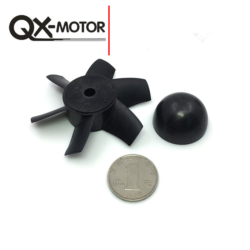 QX_MOTOR Brand 70mm EDF KIT with 6 Blades Ducted Fan Suit For RC Airplane Directly Buy from Factory Free 5 blade 64mm outrunner ducted fan 4300kv brushless motor 30a esc for lipo rc jet edf plane airplane fan