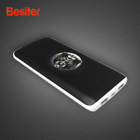 Besiter Fast Charge 10000mAh External Battery Power Bank Portable Charger Quick Charge 3 0 External Battery