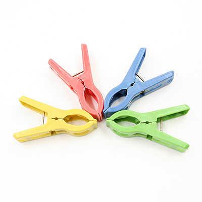 20 шт цветные прищепки зажимы прочная Одежда колышки однотонные Пластиковые Крючки стойки прищепки бельевые прищепки