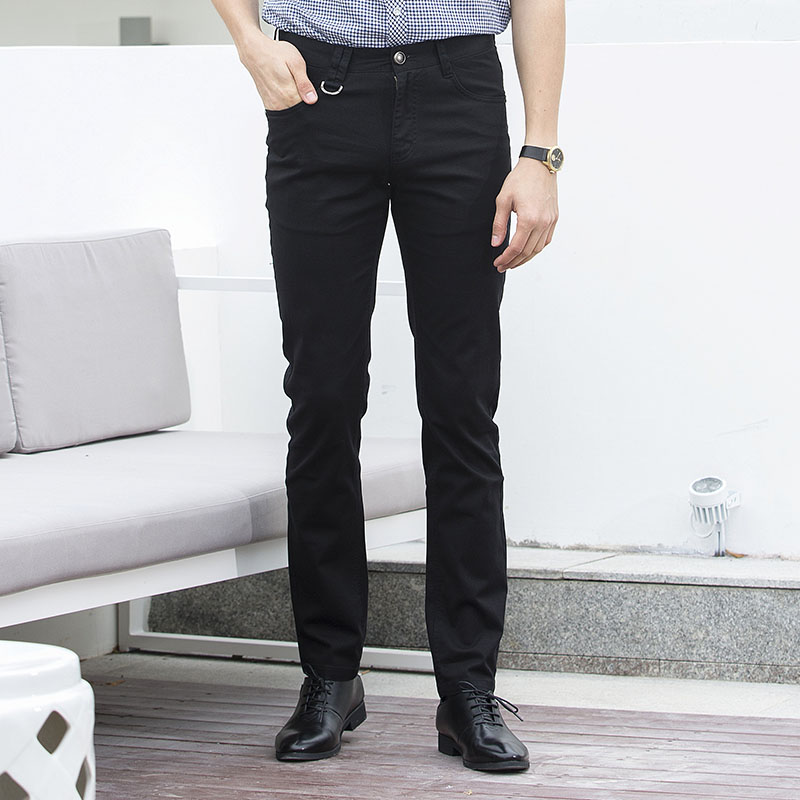 bf1267d2634d Anbican Spring and Summer Casual Chino Pants Men 2018 Brand New Straight  Long Trousers Male Blue Dress Pants-in Casual Pants from Men s Clothing on  ...