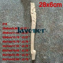 Z18-28x6 см деревянная резная аппликация плотник переводная деревянная Рабочая столярная нога стол