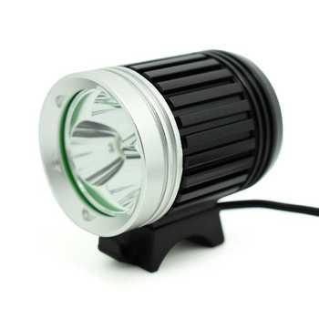 WasaFire 3600lm 3* XML T6 LED Bicycle Lights Bike Light Headlamp Headlight 6400mAh External Controlled Switch Cycling Frontlight|bike light headlamp|led bicycle lightbicycle light -